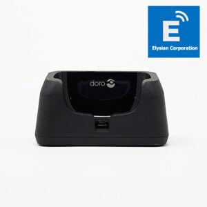 Genuine Doro PhoneEasy 631/632 - Desktop Charging Cradle Dock - New - Fast P&P