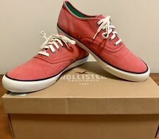 Holister Lo lace Up sneaker UK10 Brand New with Box Limited Edition.