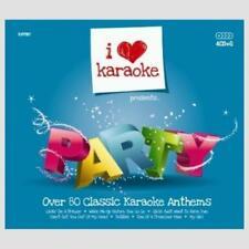 Karaoke CDG Discs - I Love Karaoke Party Pack by Zoom, 83 Great Songs on 4 Discs