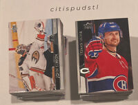 🚨 2020-21  Upper Deck NHL Hockey Complete Series 1 Base Set Numbers 1-200 WOW!