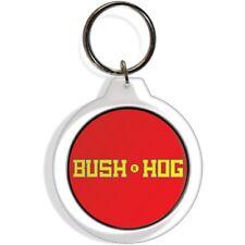 Bush Hog Tractor Farm Garden Lawn Rider Mower Keychain Key Ring Chain Acrylic