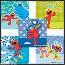 ELMO Stickers x 5 - Square- Sesame Street - Birthday Party Favours - Rewards
