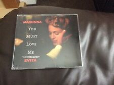 MADONNA YOU MUST LOVE ME  3 TRACK CD SINGLE NEW UNPLAYED C1