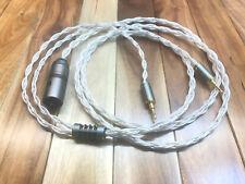6' OCC SPC Litz Focal Elear Clear Sony MDR-Z7 MDR-Z1R MPH1000 Dual 3.5mm Plugs
