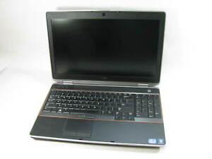 """Dell Latitude E6520 15.6"""" Laptop 2.1 GHz i3-2310M 4GB RAM (Grade C No Battery)"""