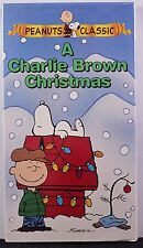 A Charlie Brown Christmas VHS Videotape Peanuts Classic TV Show Snoopy Linus New