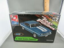 THE FAST AND THE FURIOUS 1969 CHEVY YENKO CAMARO MODEL KIT