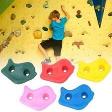 20 pcs Kids Rocks Climbing Holds Walls Climbing Gears f/ Amusements Equipments