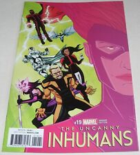 Uncanny Inhumans No 19 Marvel Comic Variant Cover Charles Soule From April 2017