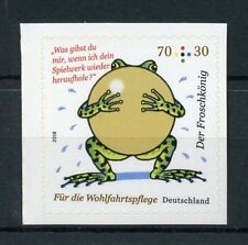 Germany 2018 MNH The Frog Prince Brothers Grimm 1v S/A Set Cartoons Stamps