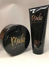 BOB MACKIE LUXURIOUS SET OF 2 Dusting Powder & Body Cream New No Box