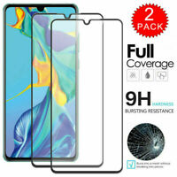 2PCS For Huawei Y6 Y7 Y9 P Smart 2019 FULL COVER Tempered Glass Screen Protector