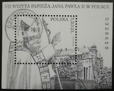 POLAND STAMPS  Fibl180 (141) Sc3649 Mibl151-Visit of pope John Paul II,2002,used