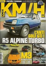 KM/H 38 BMW M3 E30 E36 E46 E92 PEUGEOT 207 RC A112 ABARTH 70hp R5 ALPINE TURBO