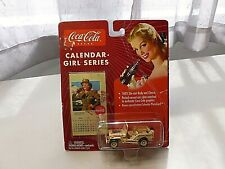 NEW JL COCA/COLA CALENDAR GIRL SERIES #12 MILITARY WILLY'S JEEP DIECAST VEHICLE