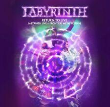LABYRINTH RETURN TO LIVE CD & DVD ALL REGIONS NTSC NEW
