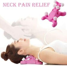 Cervical Spine Alignment Chiropractic Pillow,Neck and Head Pain Relief Back Mass