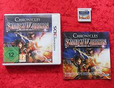 Chronicles Samurai Warriors 3D, Nintendo 3DS Spiel, deutsche Version