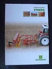 0170-3) PÖTTINGER Synkro - Flügelschargrubber - Prospekt Brochure 09.2000
