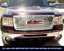 For 07-11 2011 GMC Sierra 1500 Stainless Steel Punch Grille
