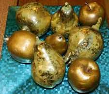 Gorgeous Lot Of Gold Fruit! So Rich Looking!