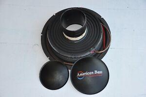 American Bass HD 12-D2 Original Recone Kit