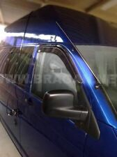 To Fit 2014+ Mercedes Vito Viano Side Window Wind Rain Deflectors Shield