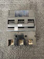 ZINSCO CIRCUIT BREAKER QFP24 200A 3 POLE 10,000 R.M.S. PLUG-IN