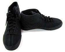 K-Swiss Shoes Canvas Mid Classic Black Sneakers Size 8/9
