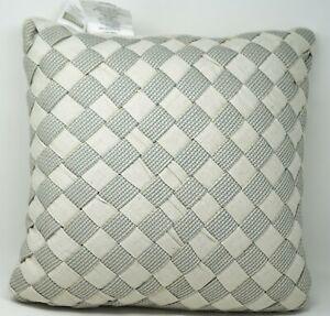 "Croscill Bedding Gavin 18"" Cotton, Linen Blend Decorative Throw Pillow - Natural"