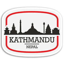2 x 10cm Kathmandu Nepal Vinyl Stickers - Travel Sticker Laptop Luggage #17101