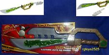 Kung Fu Panda Sword of Heroes W Electronic Lights & Sounds 23 inch New 2007