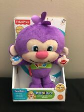 New Fisher Price Laugh And Learn learning opposites Monkey