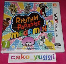 RHYTHM PARADISE MEGAMIX  NINTENDO 3DS NEUF VERSION FRANCAISE