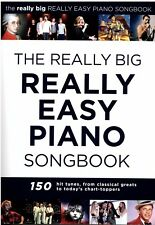 Klavier Noten : the really big REALLY EASY PIANO SONGBOOK - leicht - leMi