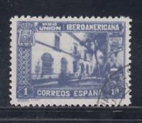 ESPAÑA (1930) USADO SPAIN - EDIFIL 578 (1 pts) UNION PANAMERICANA