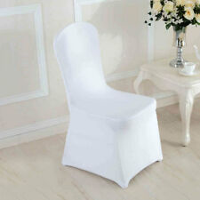 Chair Covers Spandex Lycra Cover Wedding Banquet Anniversary Party Decor White