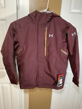 Under Armour ColdGear Infrared Revy RECCO Ski Snowboard Jacket Maroon Size Large