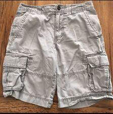 Mens Mossimo Cargo Shorts Size 30 Gray