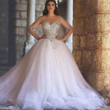 Tulle Boat Neck Half Sleeve Wedding Dresses