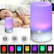 Aceite eléctrico Difusor de aroma esencial Humidificador Purificador de aire LED