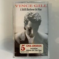 Vince Gill I Still Believe In You (Cassette) New Sealed Hype Sticker