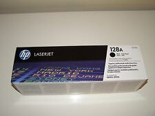 HP 128A (CE320A) Black Original LaserJet Toner Cartridge - UNUSED Factory Sealed