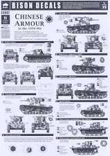 Bison Decals 1/35 CHINESE ARMOR IN THE 1930s & 1940s