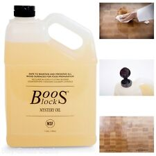 128 Ounces John Boos Mystery Butcher Block Oil 1 Gallon Cutting Boards Prep