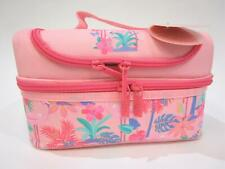 NEW - SMIGGLE Flamingos - Double Decker NEAT Lunchbox Lunch Box - RRP $30