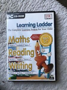 LEARNING LADDER PC CD-ROM - MATHS / READING / WRITING - AGES 5-7 Yrs