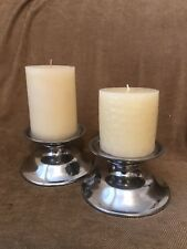 Pottery Barn Candle holders And Free Candles