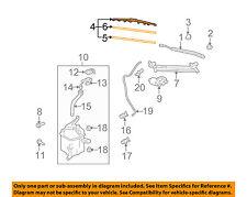 Scion TOYOTA OEM 08-15 xB Wiper Arm-Front Blade 8522212870