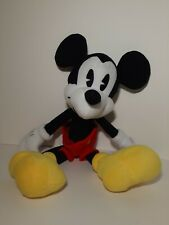 New listing Vintage Galerie Plush Mickey Mouse Disney Doll Big Red Shorts Christmas Gift Toy